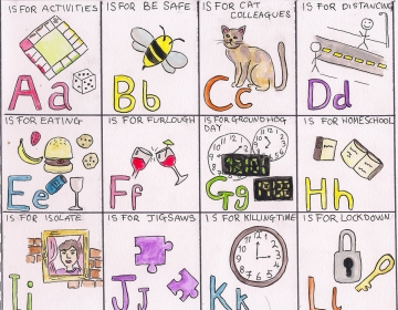 'The Lockdown Alphabet' By Cecile Fayter