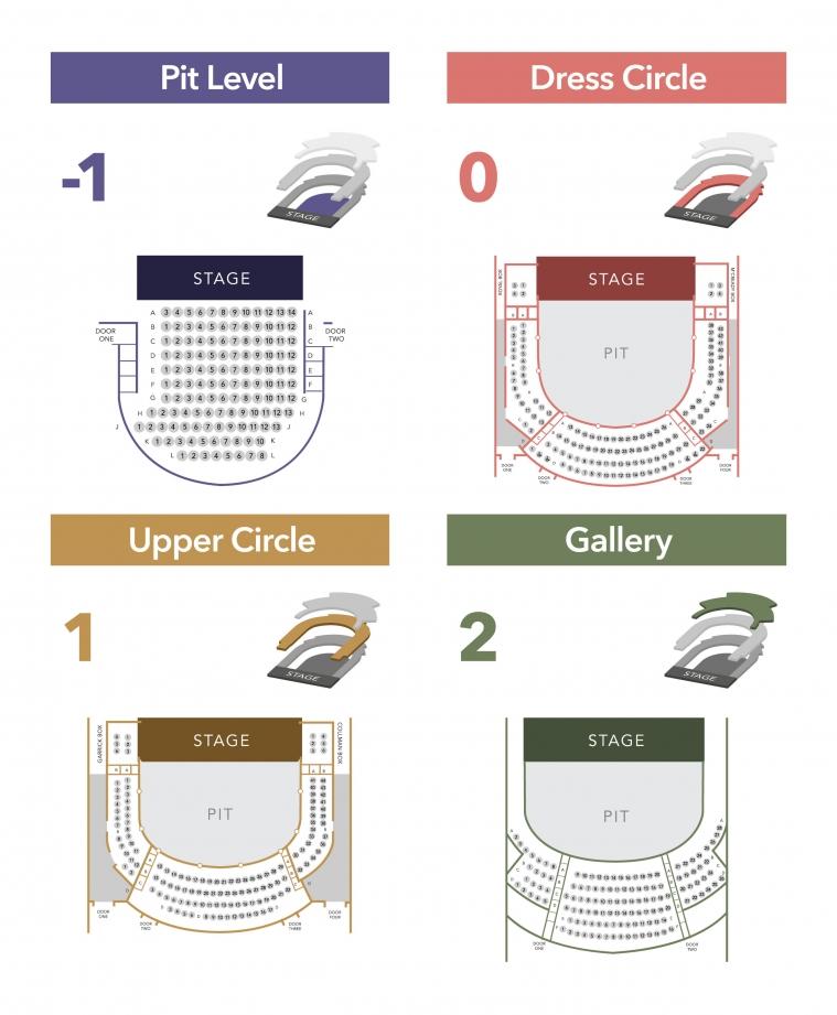 Seating Plans   Bristol Old Vic